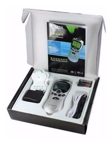 Massageador Digital Fisioterapia Acupuntura Fortalece Choque