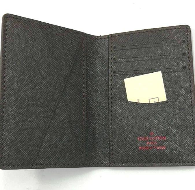 Porta Cartão Carteira Louis Vuitton Slim Monogram Organizer