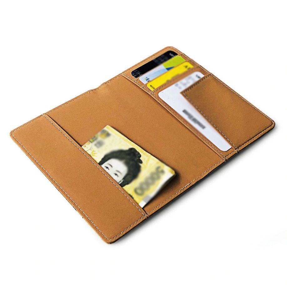Porta Passaporte Carteira Executiva Documento Viagem Cartões