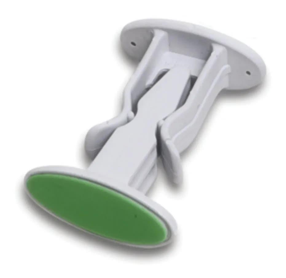 Prendedor Kit 2 Trava Porta Adesivo Fixador Segura Batente
