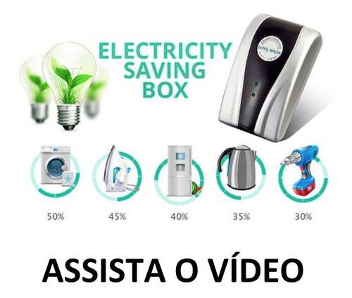 Redutor De Energia Economia Saving Box Estabilizador Consumo
