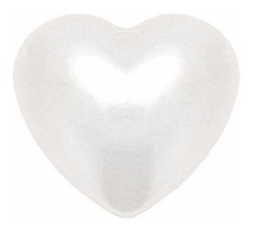 Terço Colar Coração De Pérolas Nossa Senhora Rosário Rosa