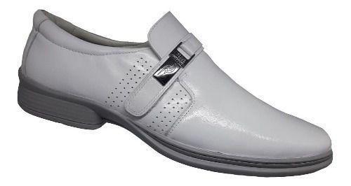 Sapato Social Branco - Rafarillo