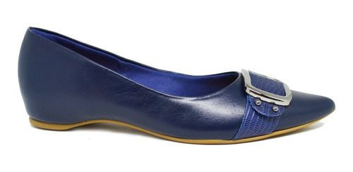 Sapatilha Feminina Ortopédica Usaflex R0537 - Azul