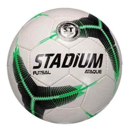 Bola Penalty Futsal Stadium Ataque 2 Ix Branco/preto/verde