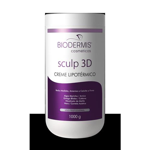 CREME LIPOTÉRMICO SCULP 3D -  1 K