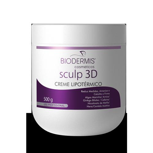 CREME LIPOTÉRMICO SCULP 3D - 500 G