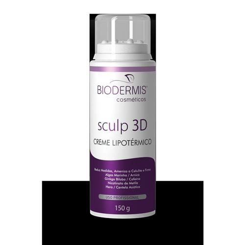 CREME LIPOTÉRMICO SCULP 3D - HOME CARE - 150 G