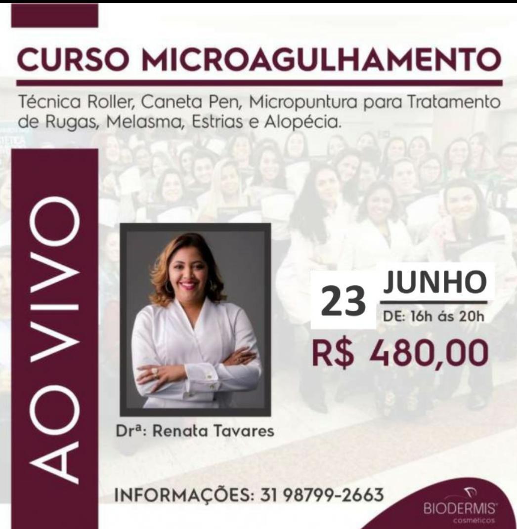 CURSO MICROAGULHAMENTO