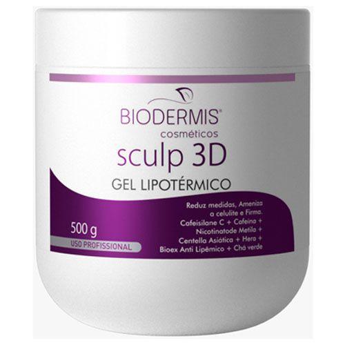 GEL LIPOTÉRMICO SCULP 3D - 500 G