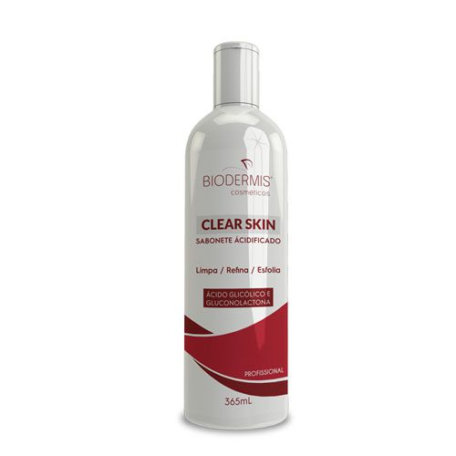 SABONETE ÁCIDIFICADO CLEAR SKIN - 365 ML