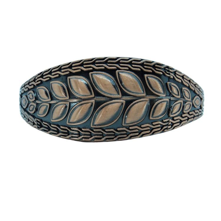Bracelete Cobre Folhas