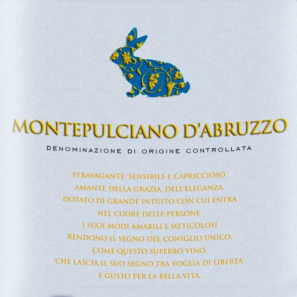 "Montepulciano D'Abruzzo ""Rabbit"" DOC 2018"