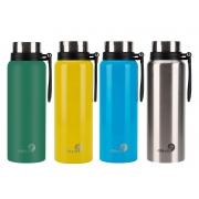 4 Garrafas Térmicas de Inox - 1,2L - Coloridas