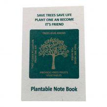 Bloco de Notas Plantável