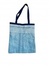 Bolsa Rafia Azul