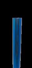 Canudo de Inox Shake 12mm Azul - OUTLET