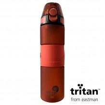 Garrafa Tritan 750ml Vermelho