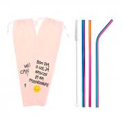 Kit 5 em 1 Inox + Escova + Ecobag Lava a Mão