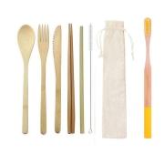 Kit Canuder Bambu Amarelo