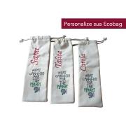 Personalização Bordado Ecobag