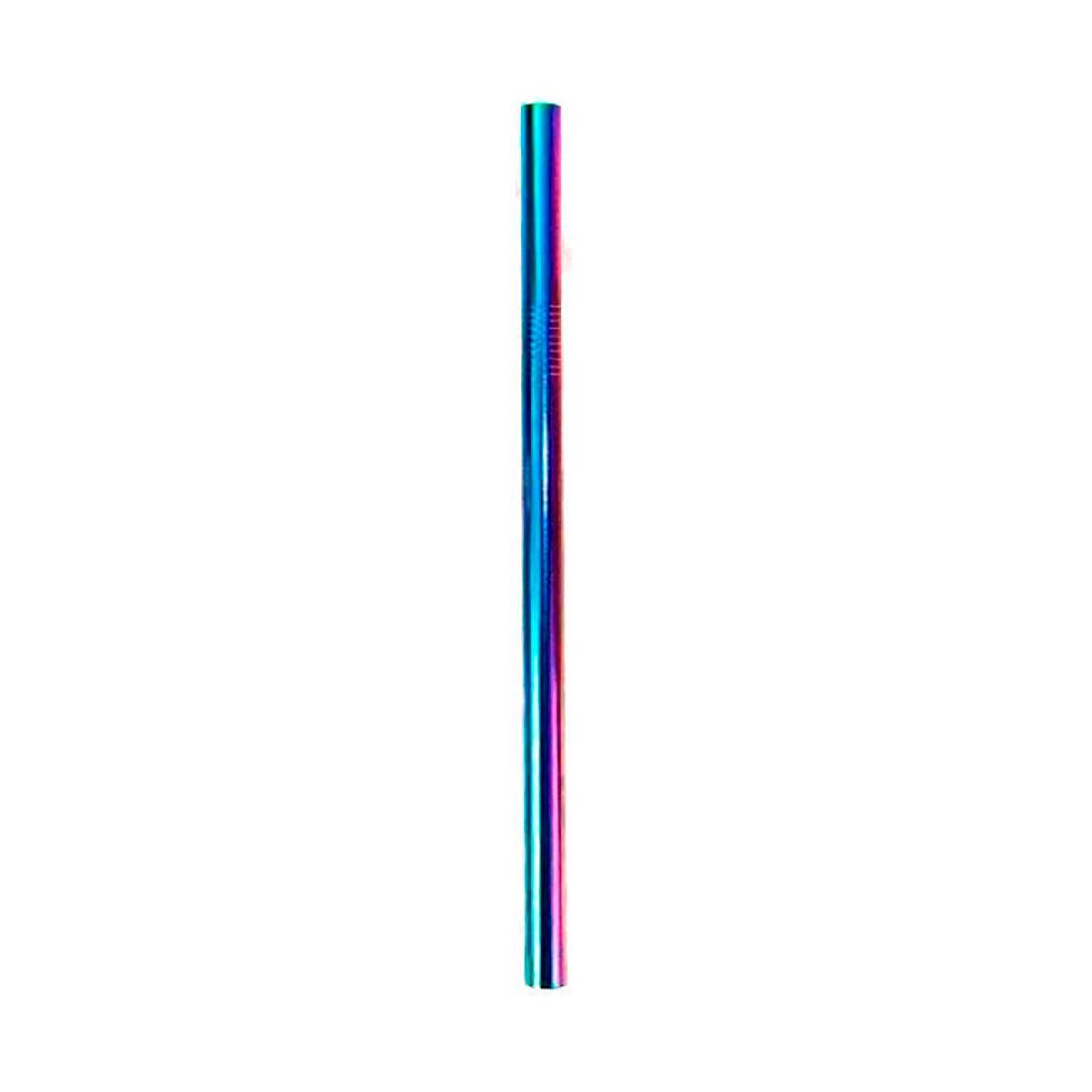 Canudo de Inox Colorido Shake 12mm