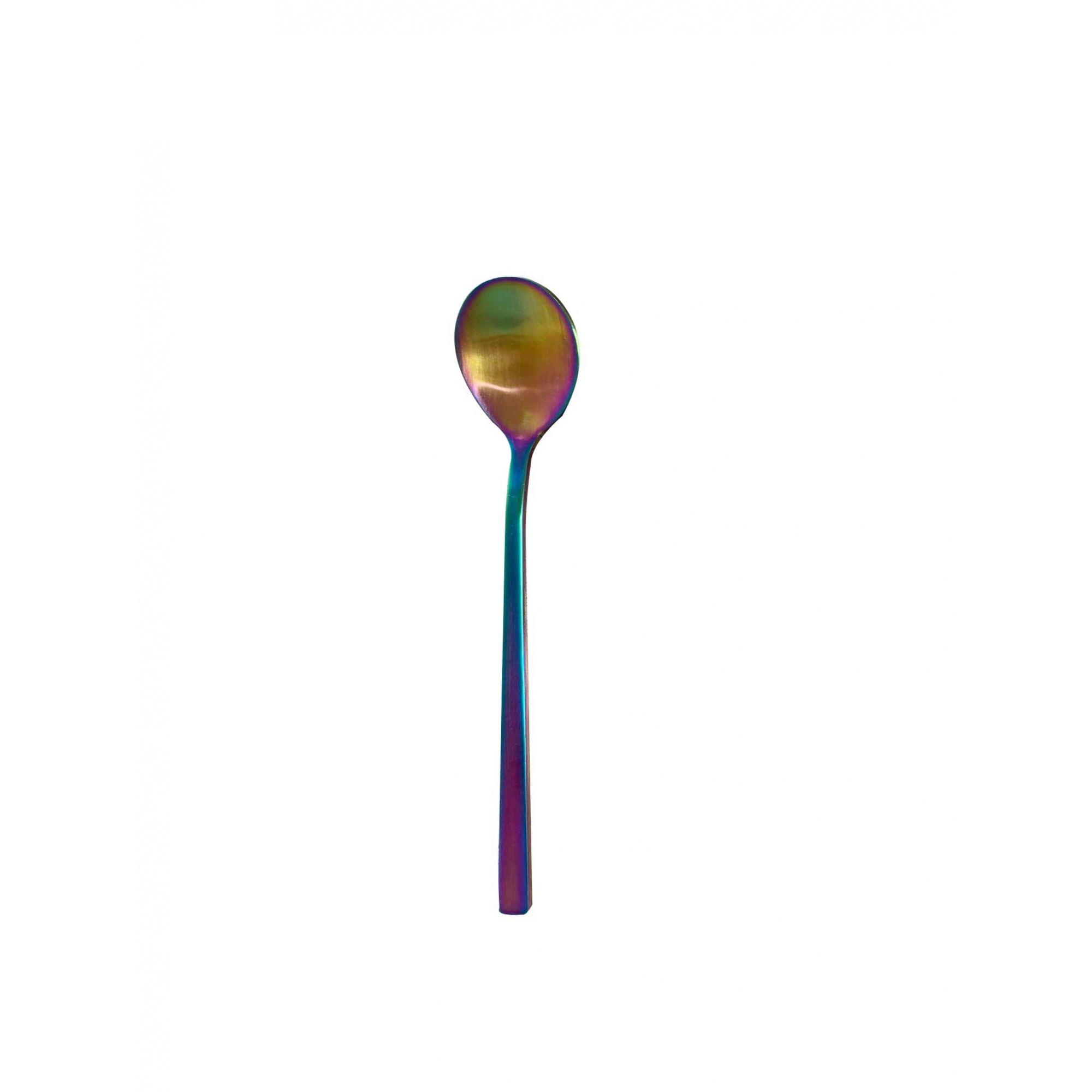 Colher de Sobremesa Inox Matte Rainbow