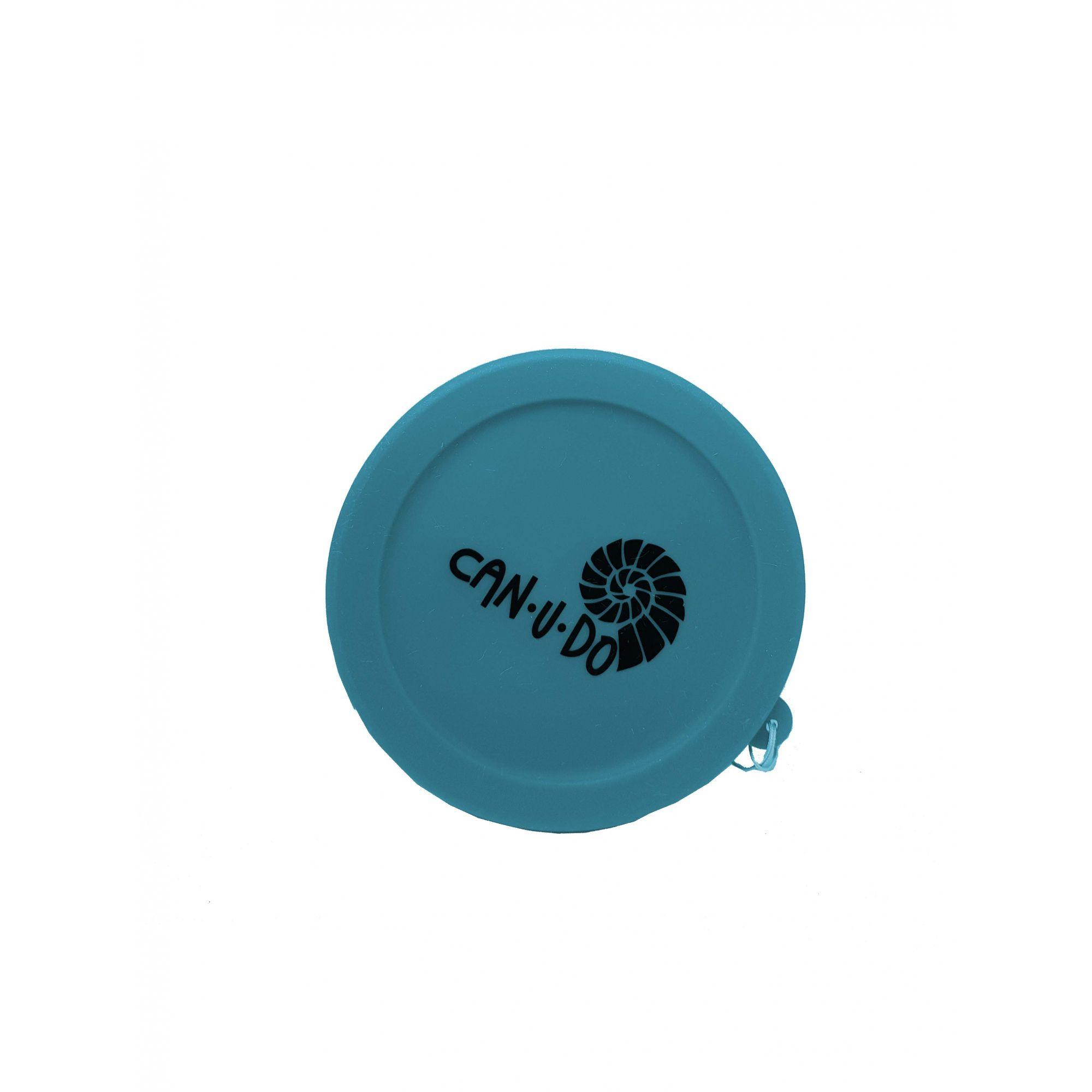 Copo de Silicone Retrátil - 260ml Azul