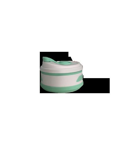 Copo de Silicone Retrátil - 350ml Verde
