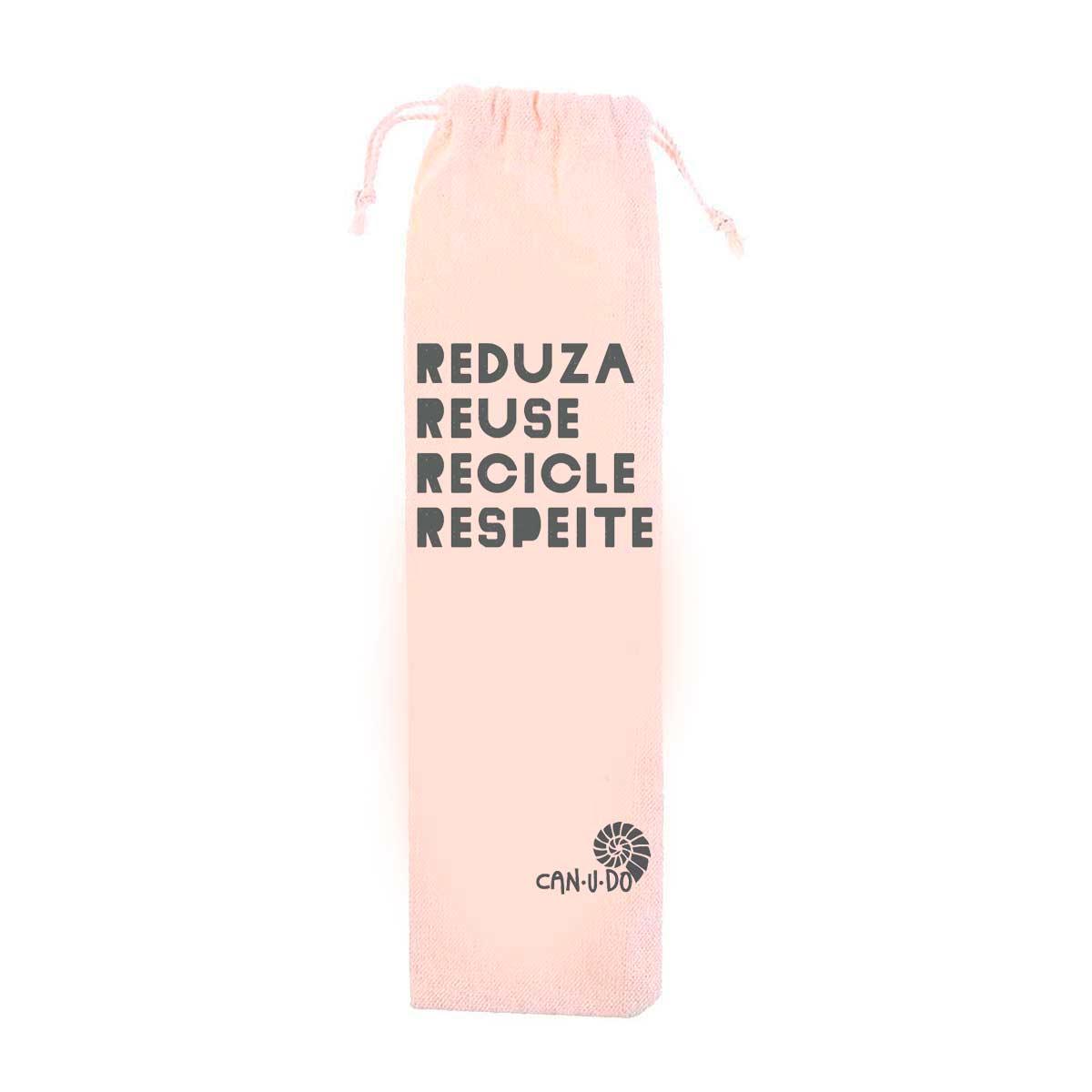Ecobag Algodão Cru - Reuse Recicle Respeite