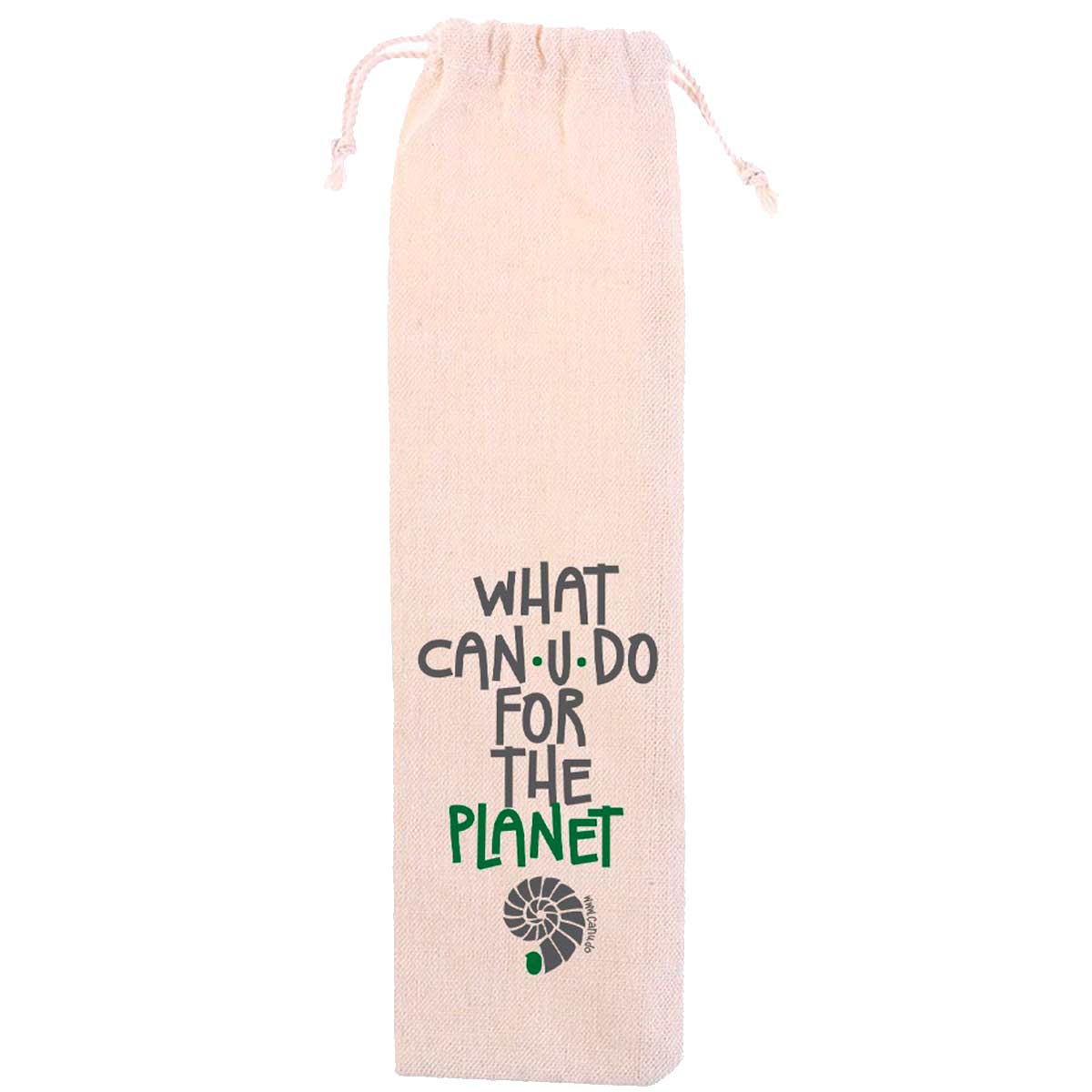 Ecobag Algodão Cru - What CAN.U.DO?