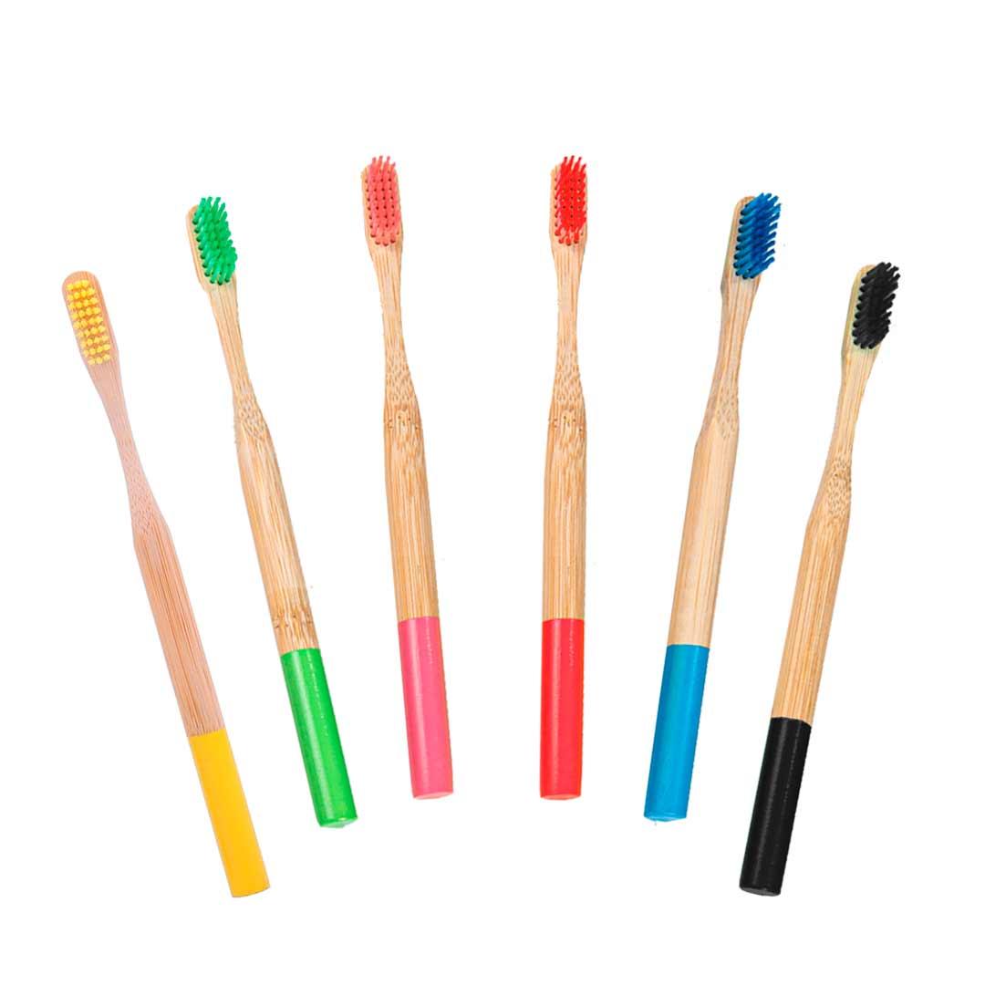 Escova de Dente - Bambu Vermelha