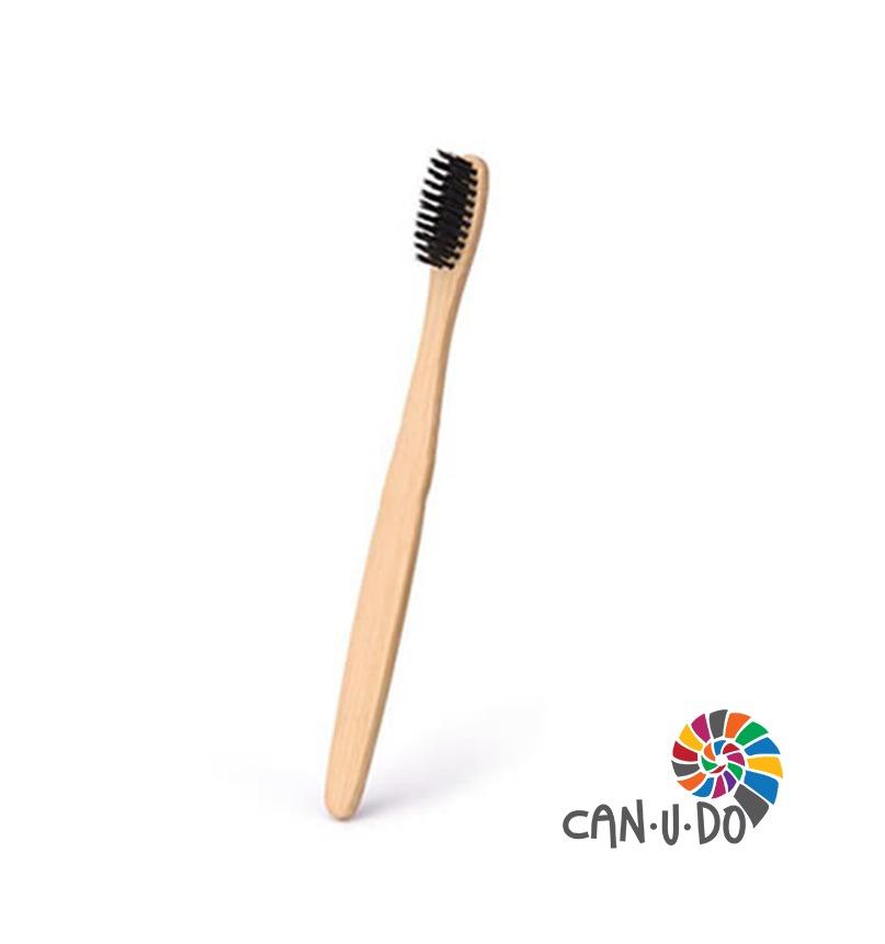 Escova de Dentes - Bambu Carvão