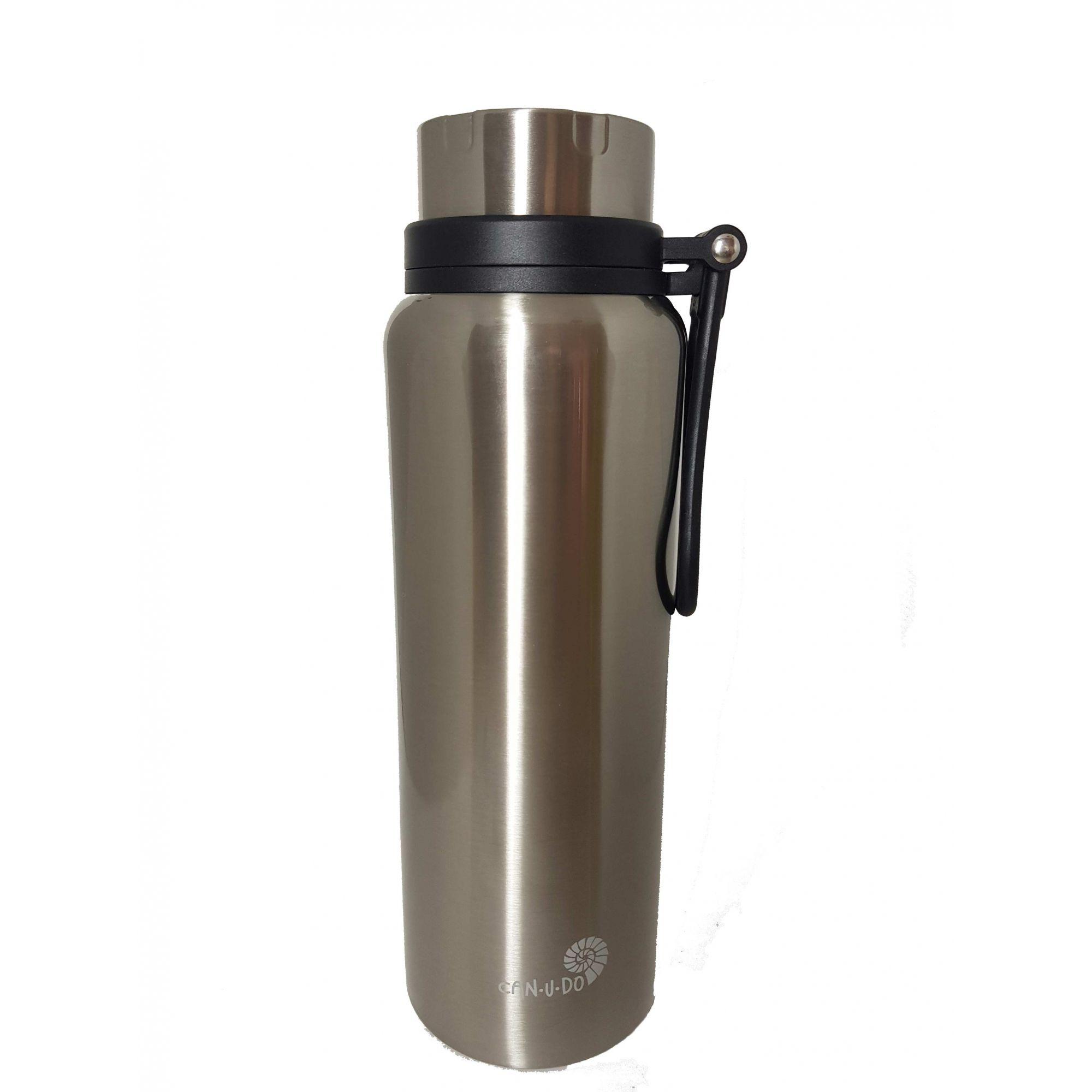 Garrafa Térmica de Inox - 1,2L - Prata