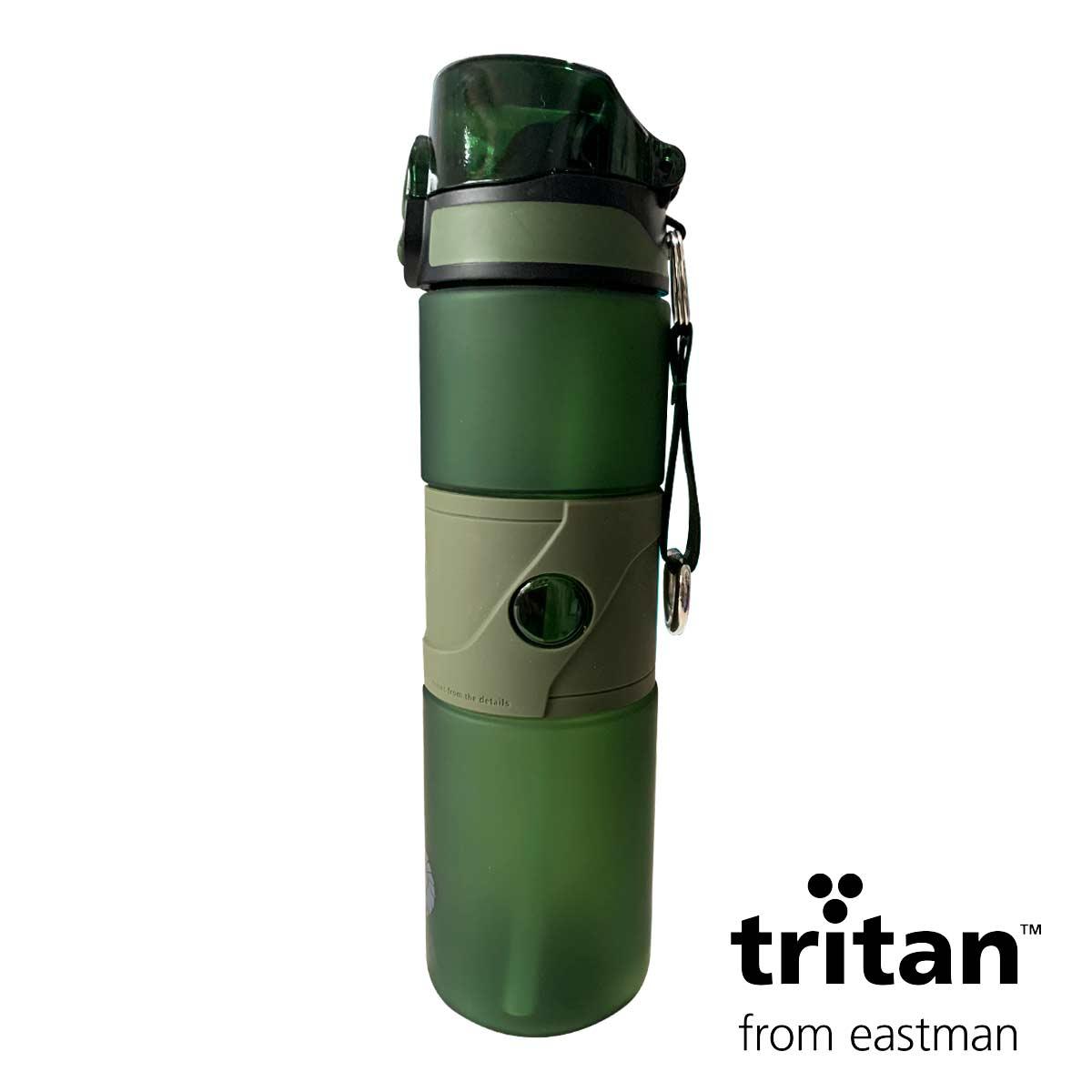 Garrafa Tritan 750ml Verde