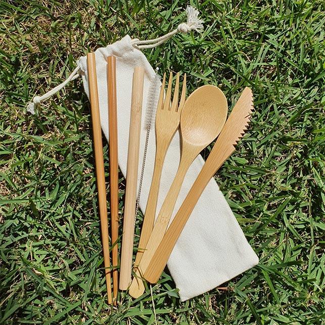 Kit Canuder Bambu Preto