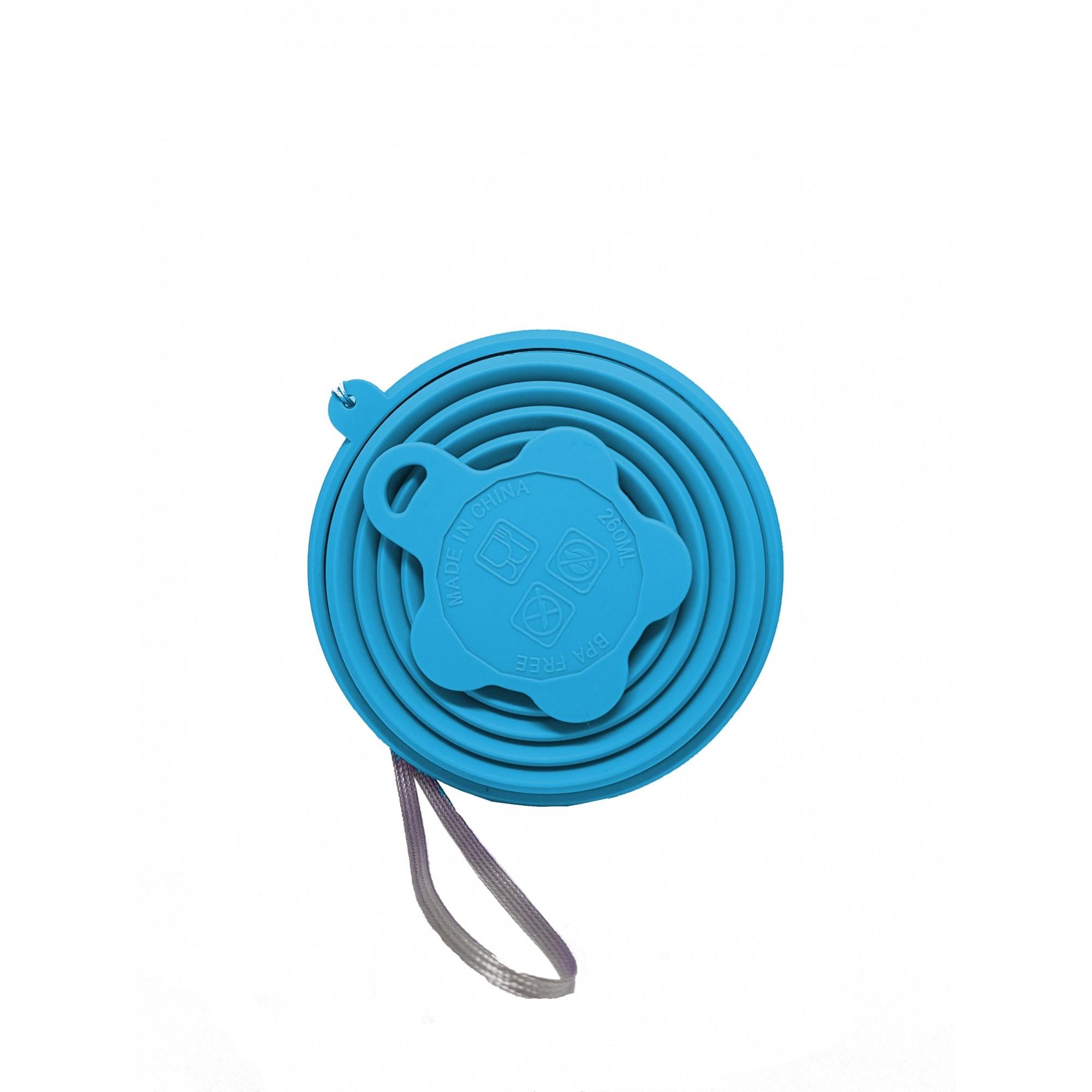 Kit Verão Inox Azul