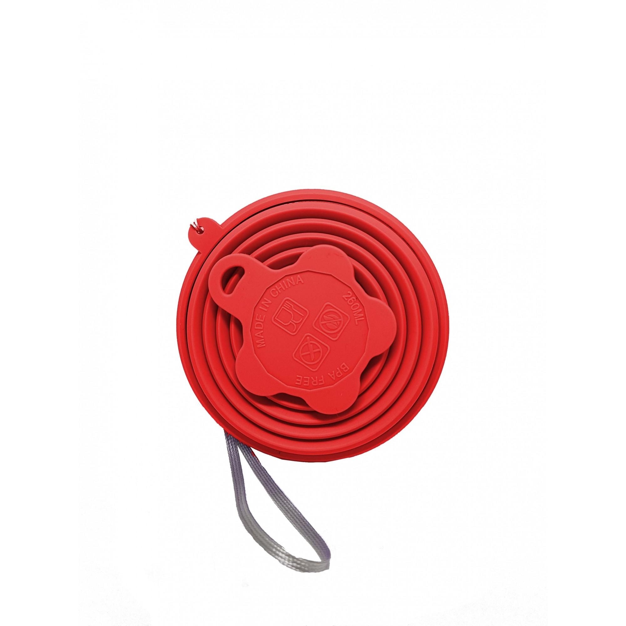 Kit Verão Inox Vermelho