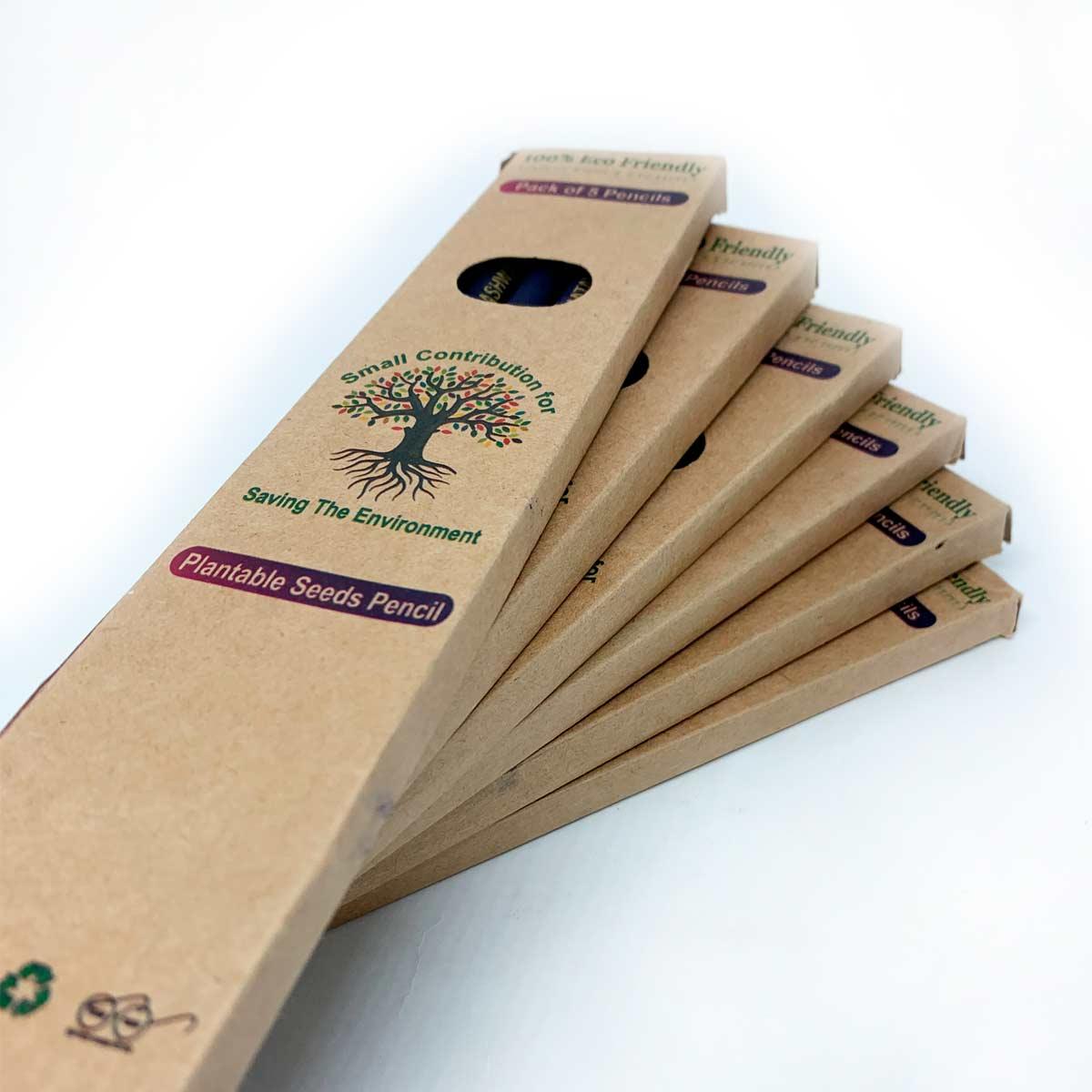 Pac 5 Lápis Plantáveis
