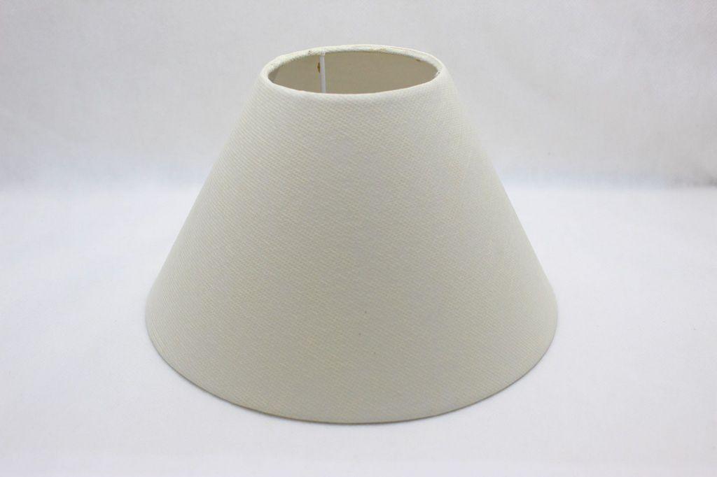 Cupula para Abajur Branco Gelo