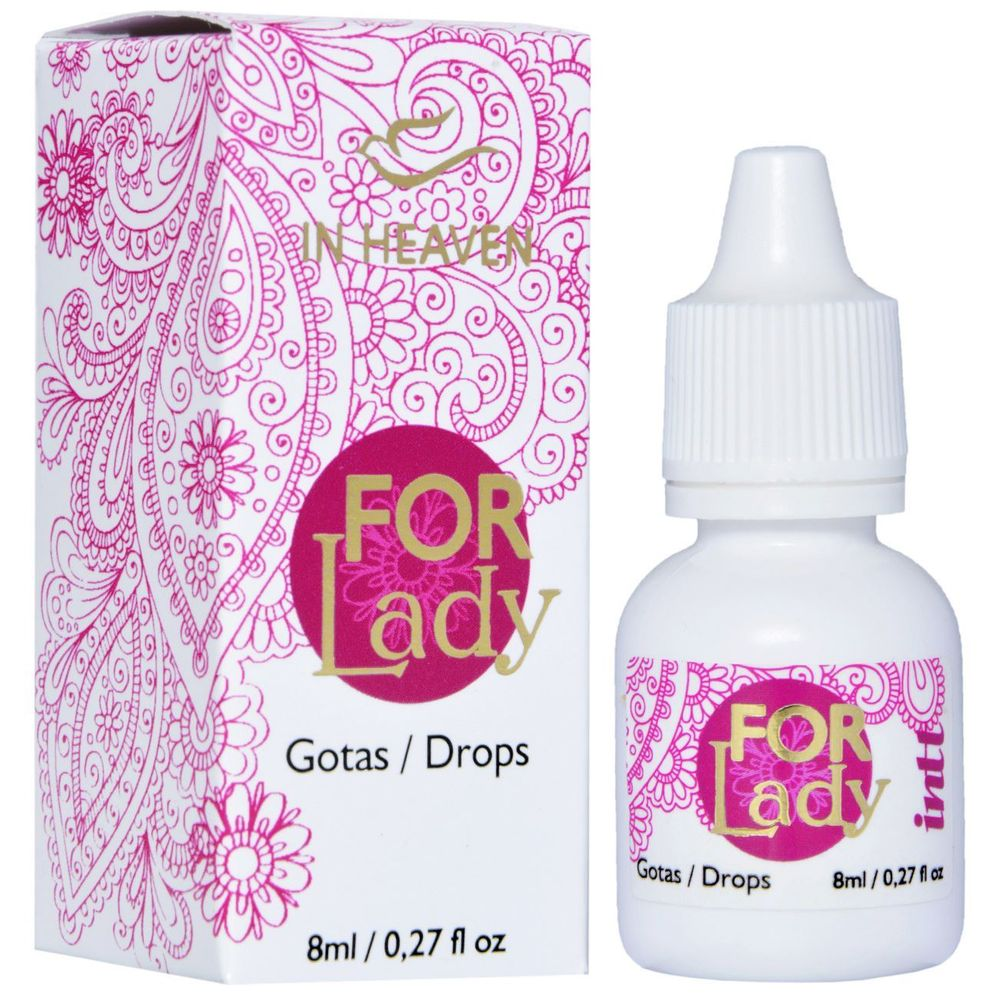 EXCITANTE FEMININO GOTAS - FOR LADY 8ML
