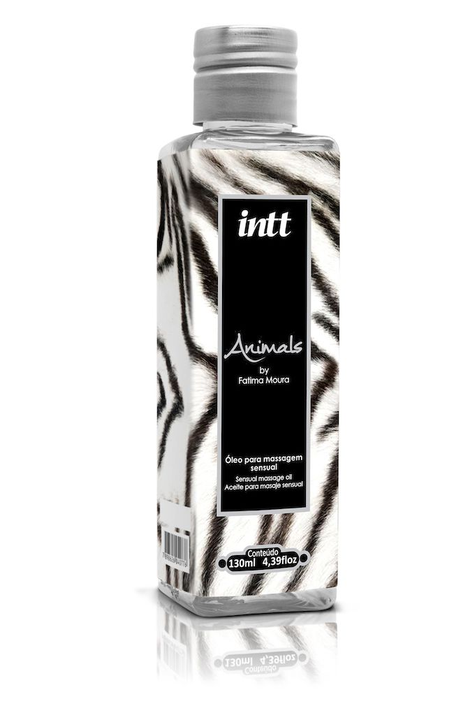 ÓLEO PARA MASSAGEM SENSUAL ANIMALS 130ML