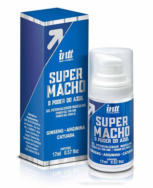 SUPER MACHO GEL POTENCIALIZADOR MASCULINO 17ML