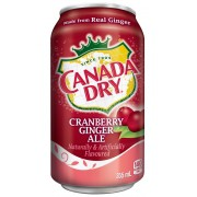 Cranberry Ginger Ale by Canada Dry