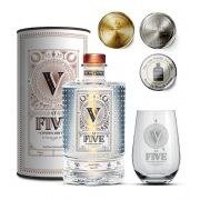 Gin At Five 750ml + Gin Glass At Five