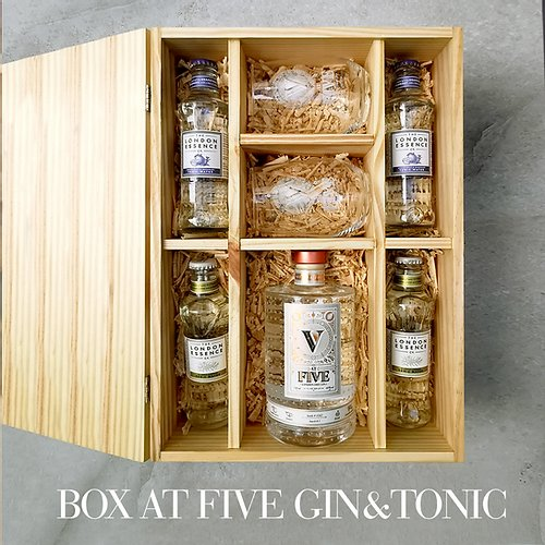 Kit At Five Gin Tonic