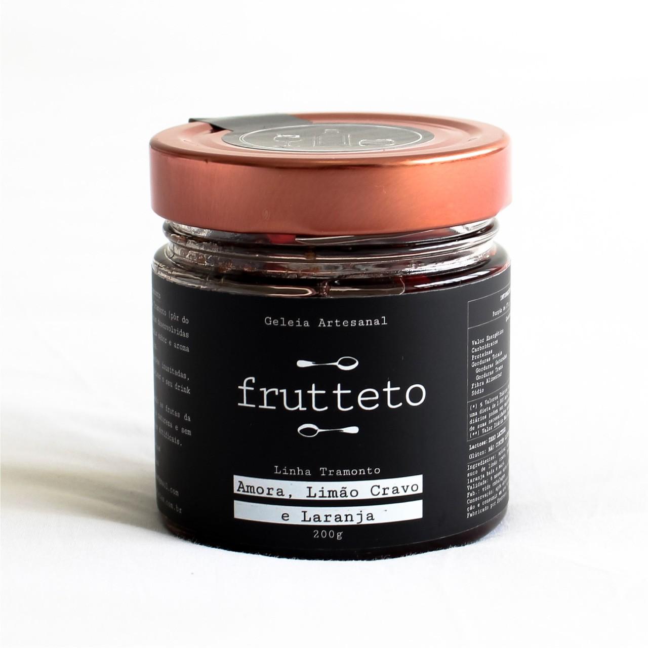 Geléia Amora, Limão, Cravo e Canela by Frutteto