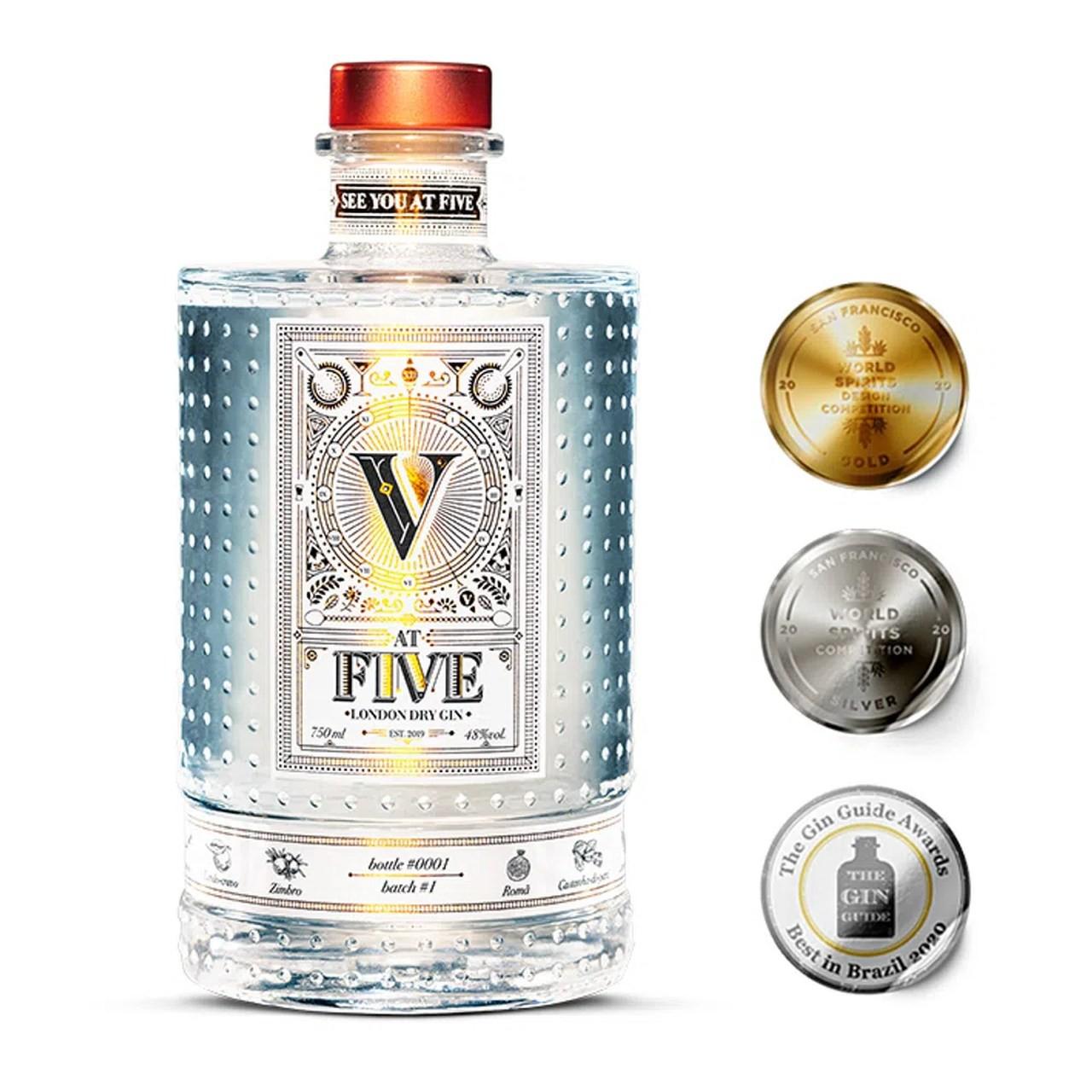 Gin At Five 700ML