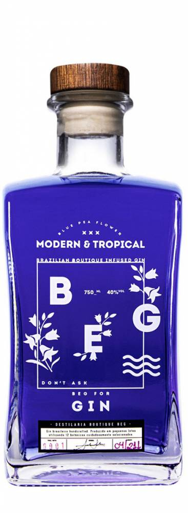 Gin Beg Modern e Tropical 750ML