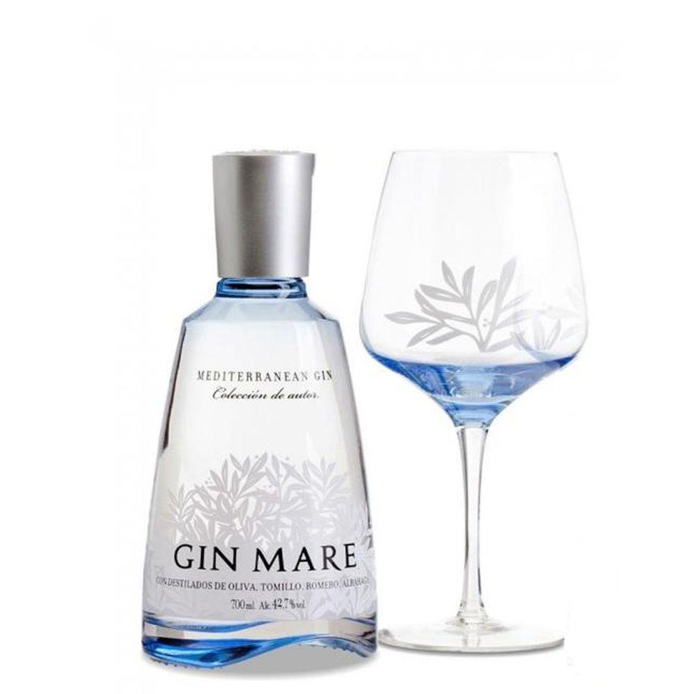 Gin Mare 700ML + Taça